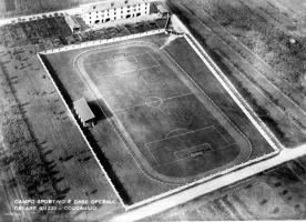 """Stadio """"Cesare Guzzi"""" - Nei primi anni 50'"""